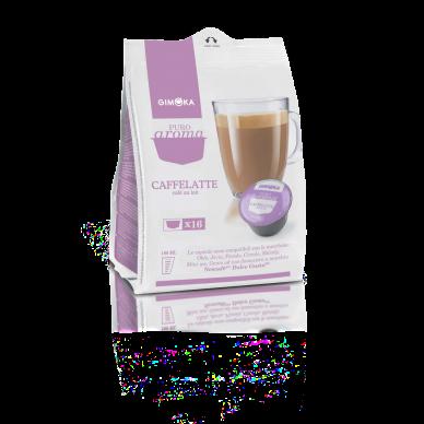 64 Capsule Gimoka Caffè Latte | Compatibili Nescafè Dolce Gusto ( 0,25 € al pz )