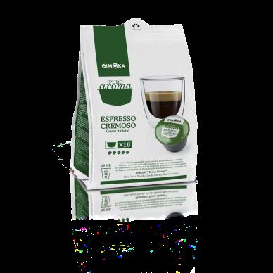 64 Gimoka Cremoso | Capsule Compatibili Nescafè Dolce Gusto ( 0,25 € al pz )