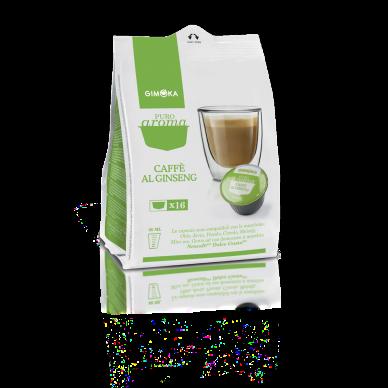 64 Capsule Gimoka Ginseng | Compatibili Nescafè Dolce Gusto ( 0,25 € al pz )