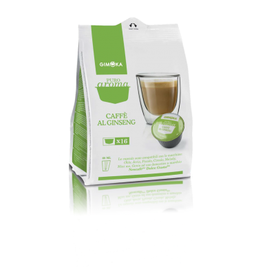 64 Gimoka Ginseng | Compatibili Nescafè Dolce Gusto