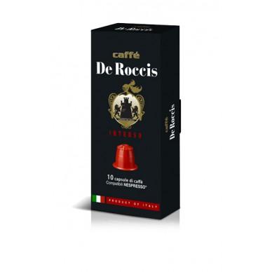 100 capsule De Roccis INTENSO | Compatibili Nespresso INTENSITA' 9 ( 0,18 € al pz )
