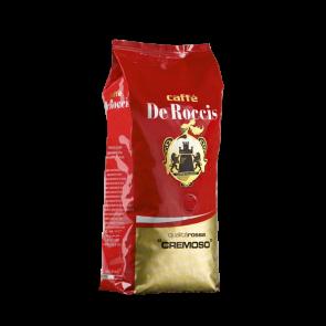Caffè De Roccis Qualità Cremoso - Rosso 1 Kg in Grani