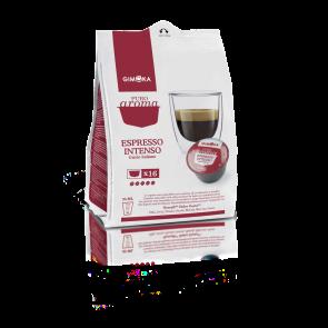 64 Capsule Gimoka Intenso | Compatibili Nescafè Dolce Gusto