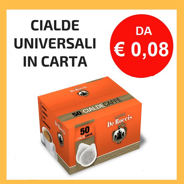 Cialde in Carta 44 mm
