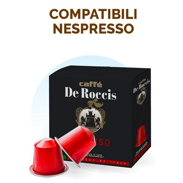 Caffè De Roccis capsule compatibili Nespresso