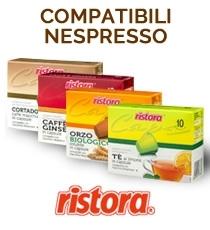 Ristora capsule compatibili Nespresso