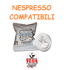 To.da caffè capsule compatibili Nespresso