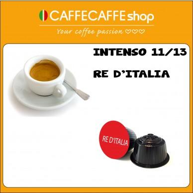 Capsule CaffecaffeShop Intenso Re d'Italia | Compatibili Nescafe Dolce Gusto