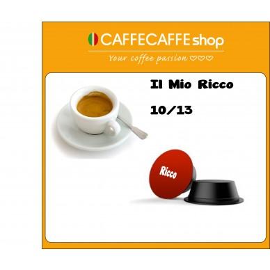 Capsule caffecaffeshop il mio Ricco   Compatibili Lavazza A modo mio