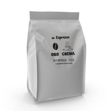 Capsule CaffecaffeShop ORO CREMA | Compatibili Nescafe Dolce Gusto