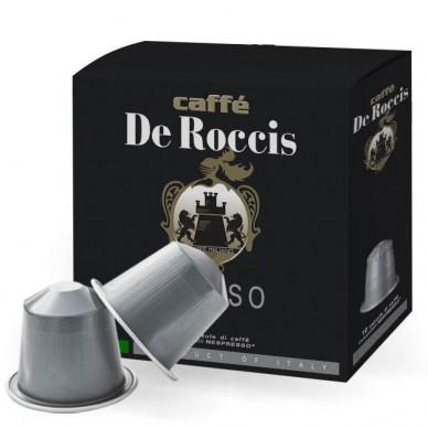 capsule De Roccis DECISO | Compatibili Nespresso - INTENSITA' 10