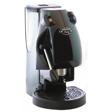 Macchina caffe Frog Nera per cialde carta 44mm con 100 caffe omaggio