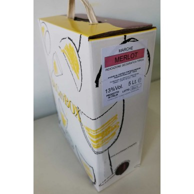 Bag in Box Merlot  | Marche 13°