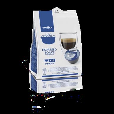 64 Capsule Gimoka Soave Dek | Compatibili Nescafè Dolce Gusto ( 0,26 € al pz )
