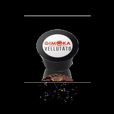 Capsule Gimoka Vellutato Plus Caffè | Compatibili Lavazza Blue