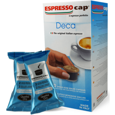 Espresso Cap Termozeta Decaffeinato | Capsule Caffe