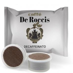 Capsule De Roccis Decaffeinato | Compatibili Lavazza Espresso Point o Mokona Trio