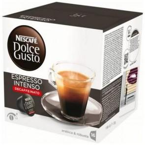 Caffè Nescafè Dolce Gusto Miscela Espresso Decaffeinato Intenso