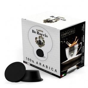 Capsule De Roccis Elite 100% Arabica | Compatibili Lavazza A Modo Mio