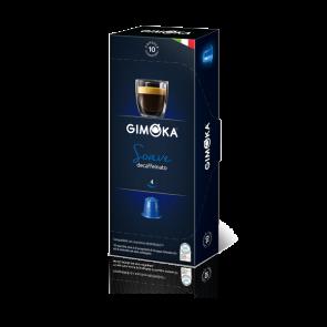 Gimoka Miscela Soave Decaffeinata Caffè - Capsule Compatibili Nespresso - INTENSITA' 4